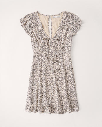 ANFTie-Neck Dress