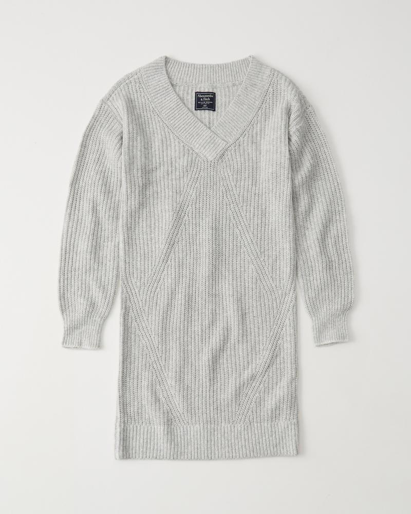 Pulloverkleid Mit V Ausschnitt by Abercrombie & Fitch
