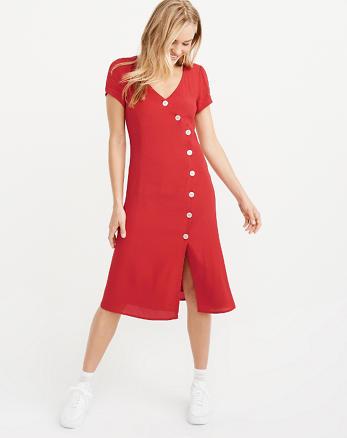 d5a872cb8abc Kleider und Einteiler für Damen   Sale   Abercrombie   Fitch