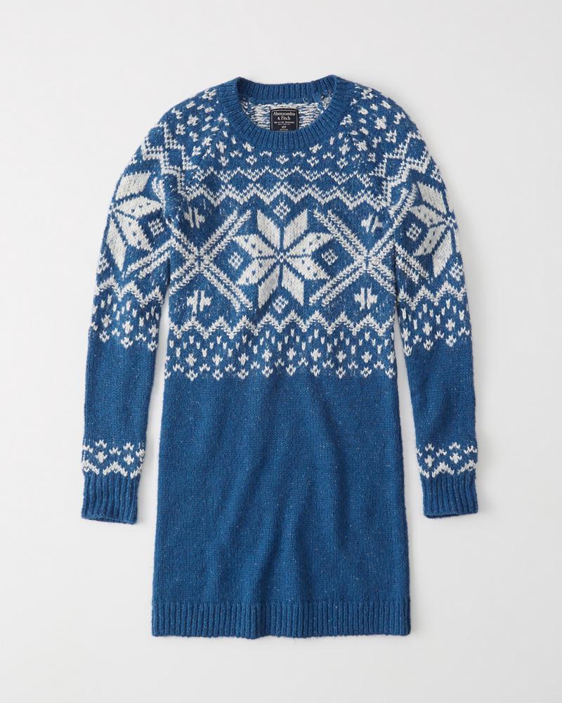 b7280dcc7f Womens Holiday Sweater Dress