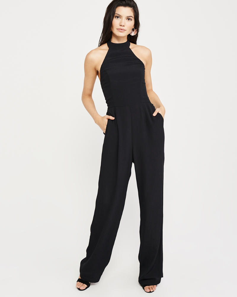 Halter Jumpsuit by Abercrombie & Fitch