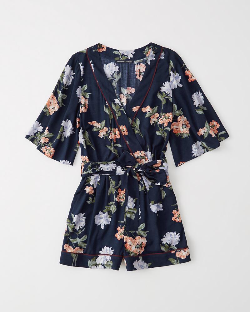 b3ab3ec18399 Womens Kimono Wrap Romper