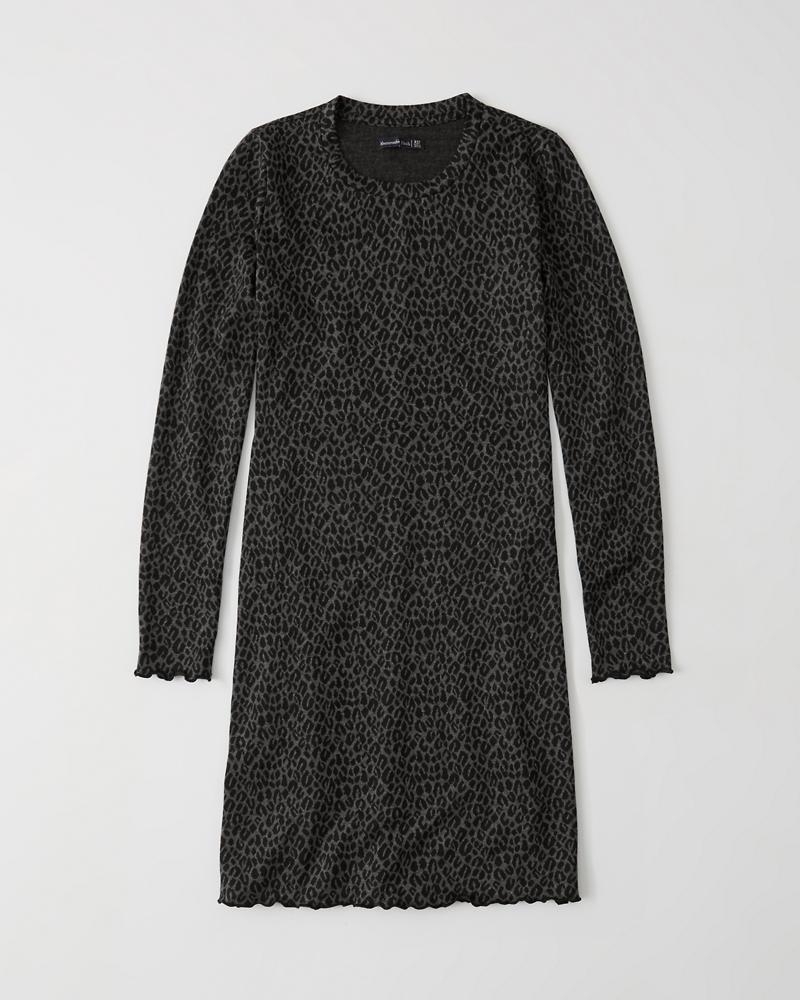 3261bc731a Mujer Vestido ceñido de mangas largas