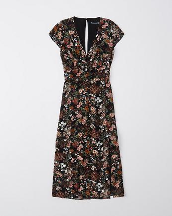 ANFBack-Detail Midi Dress