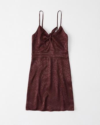 ANFTie-Front Mini Dress