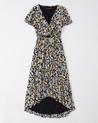 ANFRuffle Hem Midi Dress