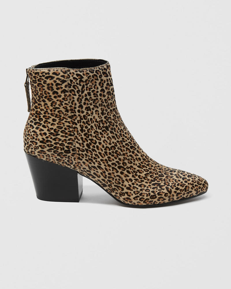 Dolce Vita Leopard Coltyn Bootie by Abercrombie & Fitch