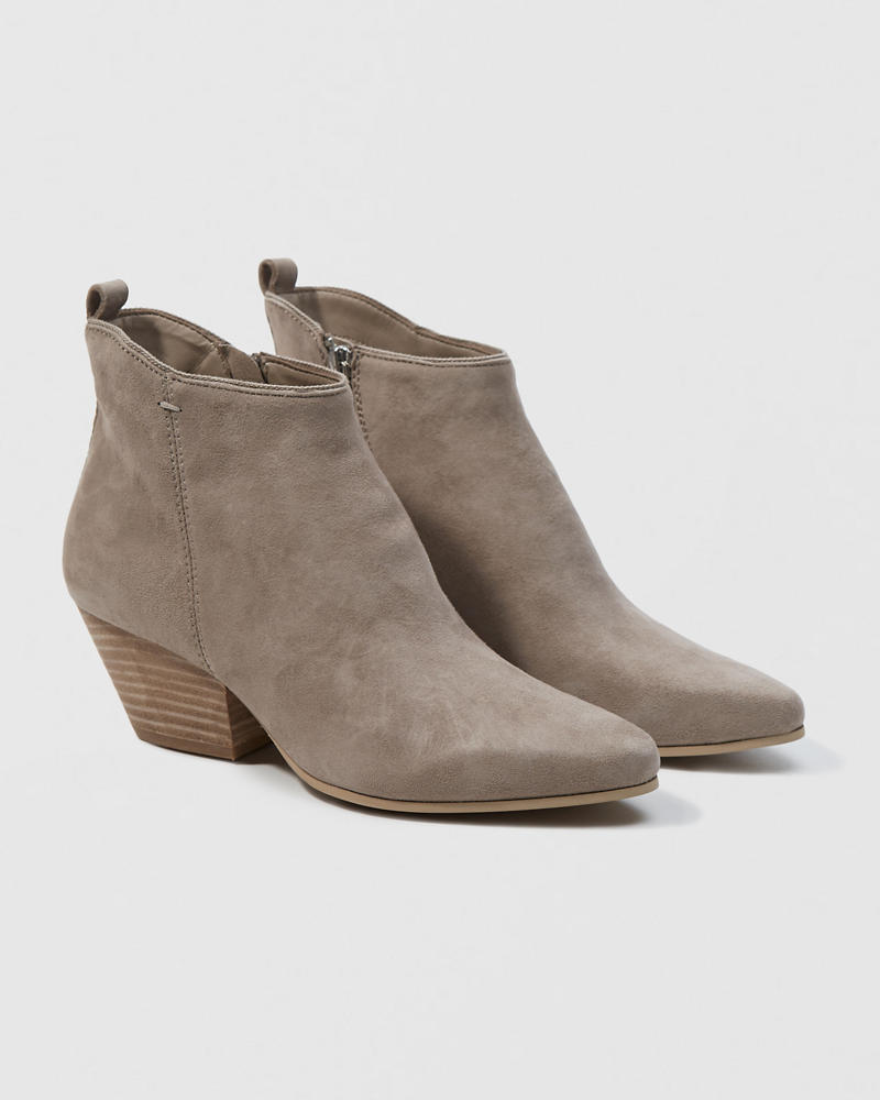0c1a4875a68 Womens Dolce Vita Pearse Suede Bootie