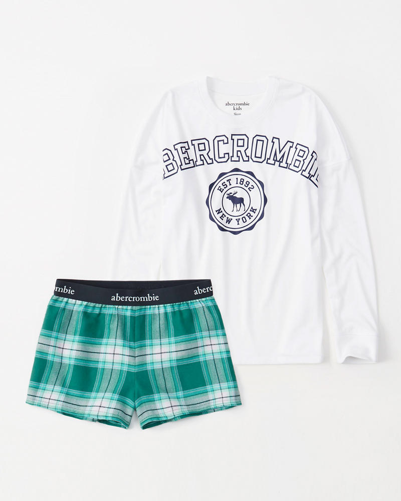 Sleep Shorts Set by Abercrombie & Fitch