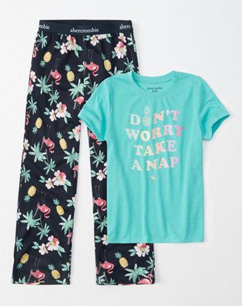 bf81e2a700 conjunto de pijama de manga corta