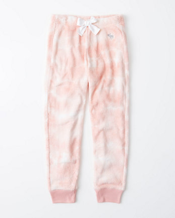 kidsicon fleece sleep joggers