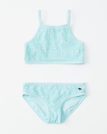 c62b91a3e03f0 girls strappy-back two-piece swimsuit | girls swimsuits | Abercrombie.com