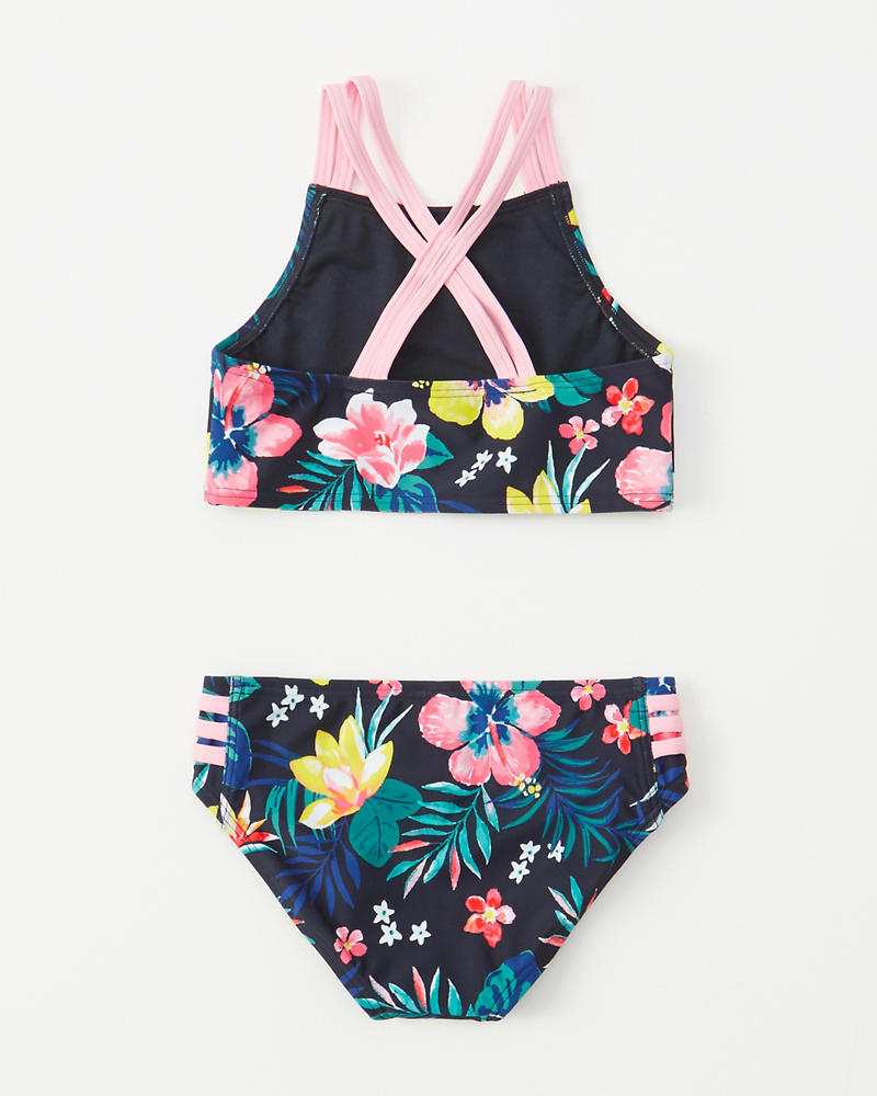 2cef764d364a6 girls two-piece high-neck swimsuit | girls swimsuits | Abercrombie.com