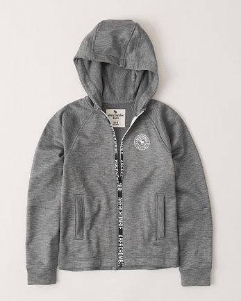 kidsathletic full-zip hoodie