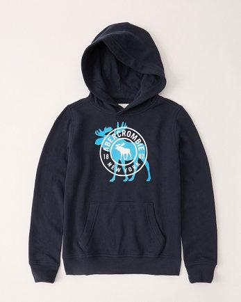 kidsprint logo hoodie