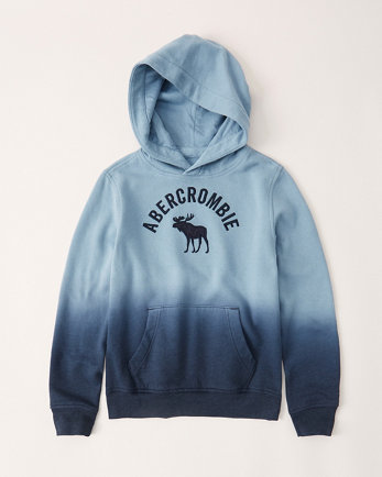 kidsombre logo hoodie