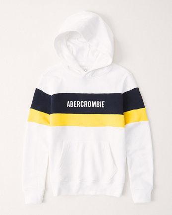 kidscolorblock hoodie
