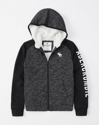 17a4f50a56a1 boys zip up hoodies | abercrombie kids