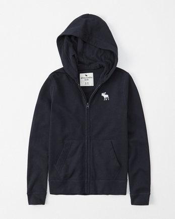 kidslightweight icon full-zip hoodie