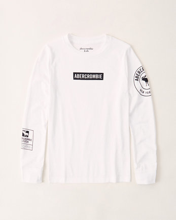 kidsprint logo graphic tee