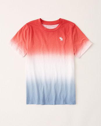 kidsshort-sleeve pattern tee