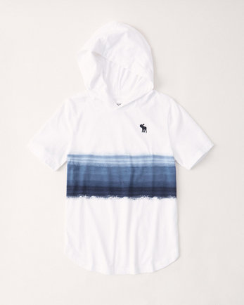 kidsshort-sleeve hooded tee