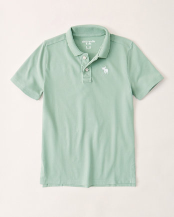 kidsicon stretch polo