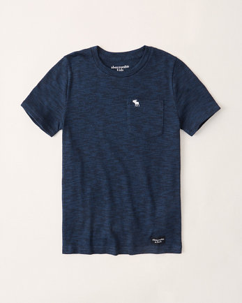 kidstexture icon pocket tee