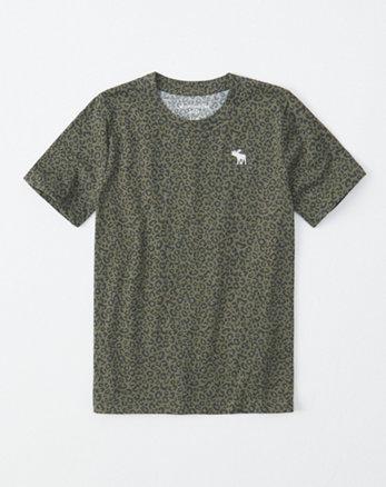 1d380f817004 maglietta a maniche corte con motivo