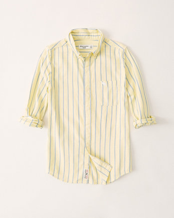 kidslong-sleeve button-up