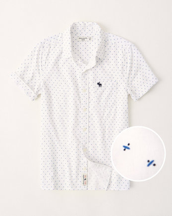 kidsshort-sleeve button-up