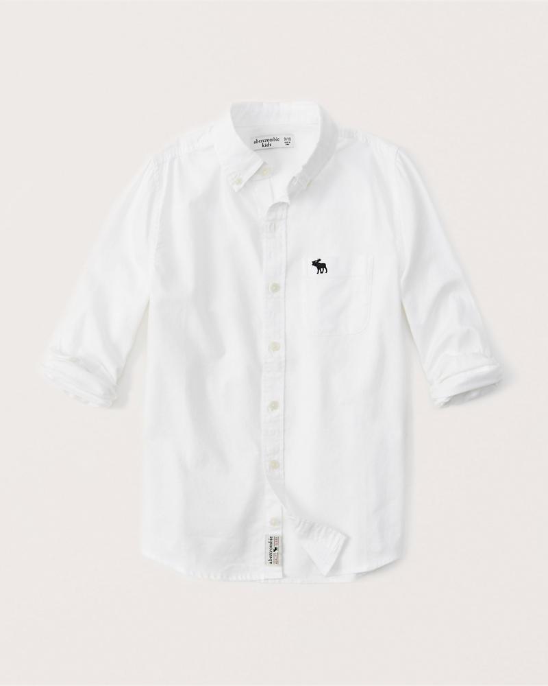 7fd96861f8a20 garçon chemise preppy à manches longues