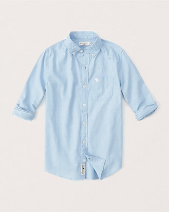 kidslong-sleeve preppy shirt