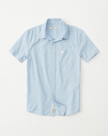 ef79c533 boys button-up shirts   abercrombie kids