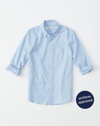 e6bd5102 boys button-up shirts | abercrombie kids