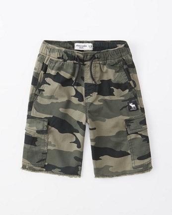 kidstwill pull-on cargo shorts