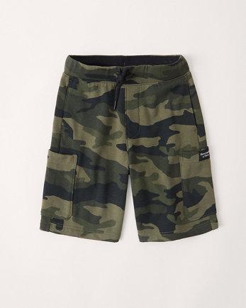 kidsfleece utility shorts