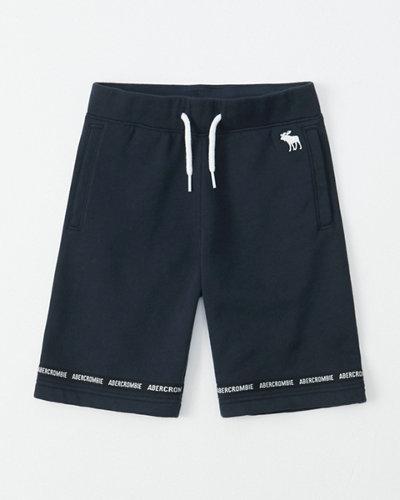 864f1a3ac680b boys logo tape shorts | boys bottoms | Abercrombie.com