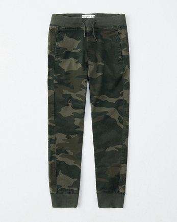 kidscamo jogger pants
