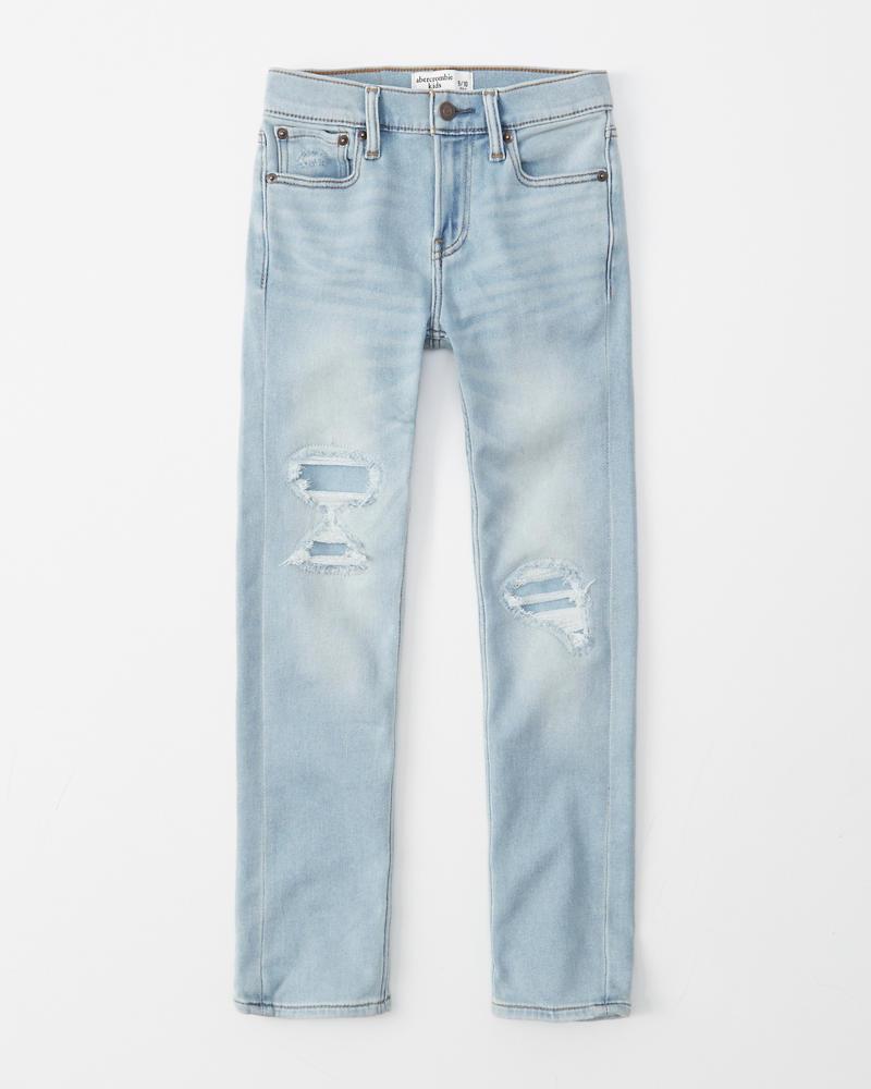 f4377308ca0 boys sweatpant stretch ripped skinny jeans