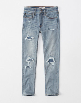 0ae59f33ef21 ripped super skinny jeans, light ripped wash