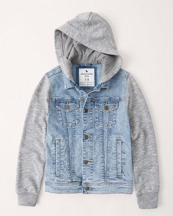 kidsdenim twofer jacket