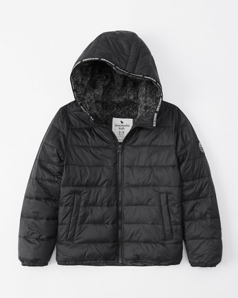 kidsthe a&f cozy puffer