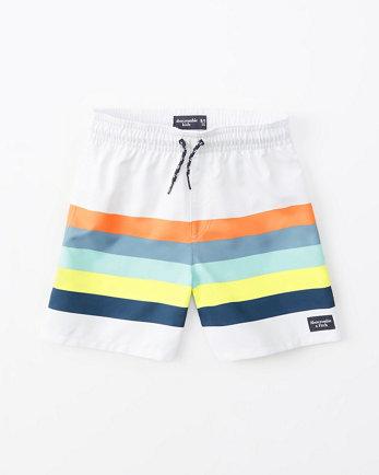 kidslogo swim trunks