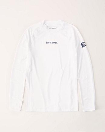 kidslong-sleeve logo rash guard