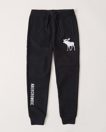 kidsembroidered logo joggers