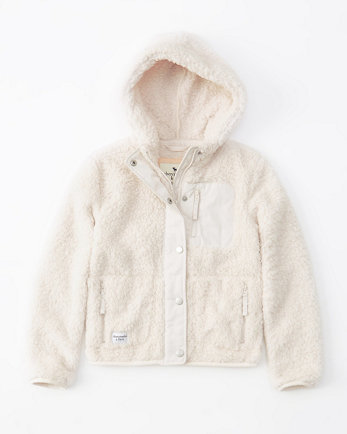kidsexterior sherpa fleece jacket