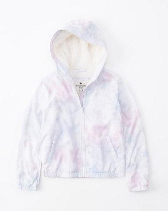 kidsfull-zip hooded jacket