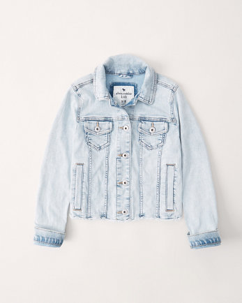 kidsacid wash denim jacket
