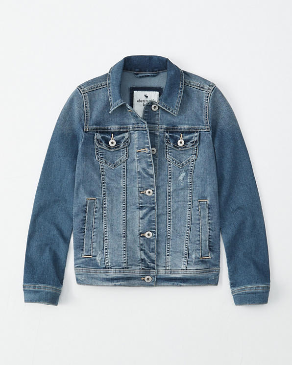 208ddb7ee girls denim jacket | girls coats & jackets | Abercrombie.com